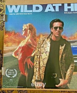 Wild At Heart (1990) Royaume-uni Quad Affiche De Cinéma Originale David Lynch Nicolas Cage