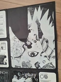 Wonderwall Quad Poster Original Uk Film Poster 30x40 Plié