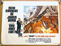 You Only Live Twice Lin Quad 1967 Mccarthy Art De Connery As James Bond
